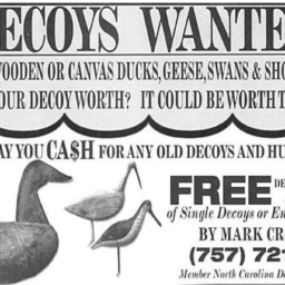 Decoys Advertisement