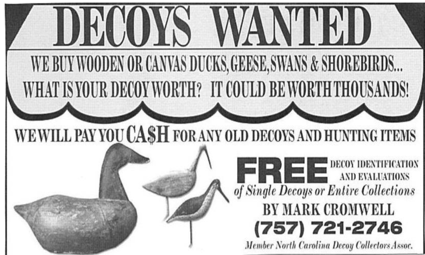 Decoys Advertisement