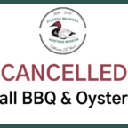 Oyster Roast Cancelled