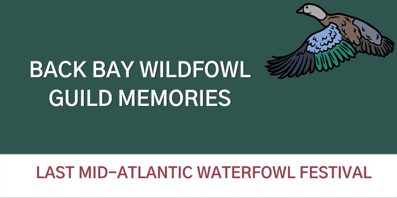 Back Bay Wildfowl Guild Memories